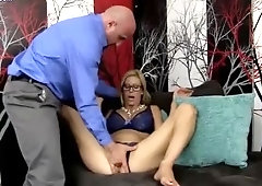 Supreme busty Alexis Fawx is making dude cum