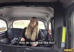 Horny Misha Cross backseat cowgirl sex