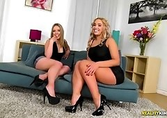 Sexy moments with Danielle Soul, Briana Bounce and Marco Banderas