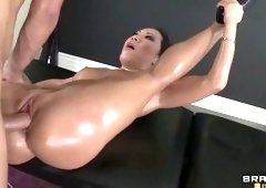 Spanking porn video featuring Keiran Lee and Asa Akira