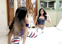 Natalie Monroe, Veronica Rodriguez and Lisa Daniels