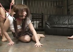 Asian nympho Eri Makino is actually ready for some weird masturbation
