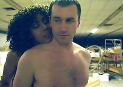Awesome doggy style shag with lusty Misty Stone and James Deen